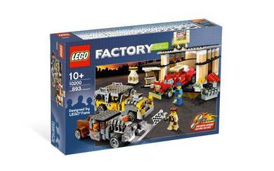Lego 10200 custom car garage
