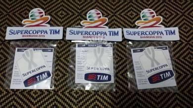 TIM SUPERCOPPA FINALE 2015 Patches