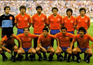 Rare jersey SPAIN(SEPANYOL)HOME 1982 world cup