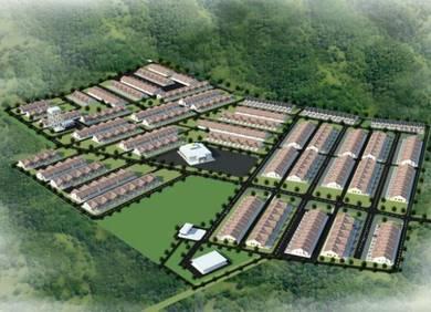 Projek Rumah Teres 1 Tingkat Mampu Milik RM198K Uitm Machang
