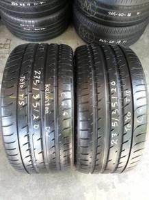 Tayar 275 - 30 - Rim 20 Toyo.95 %