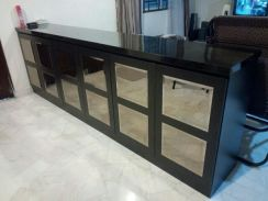 8Ft Solid Wood Cabinet
