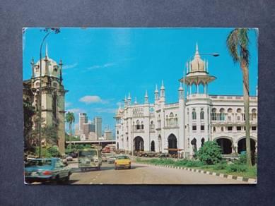 Vintage Postcard Railway Station No 2476