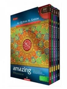 Al Quran Amazing Per Jilid (Hard Cover)