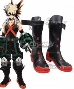 My Hero Academia Katsuki Bakugo cosplay shoes boot