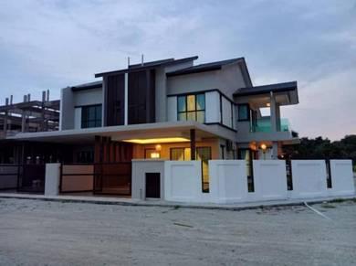 New 2 Storey Link House Luxury Design Sungai Soi Cash Back RM50K