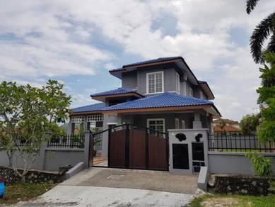 CORNER LOT FREEHOLD 2 Storey Bungalow Bandar Bukit Mahkota Bangi