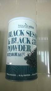 Black Sesame Black Bean Super Organic Powder USA