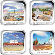 World Famous Sq 2013 1oz Silver Proof 4 Coin Set
