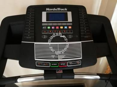 Nordictrack c800 treadmill free core bench
