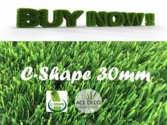 C-Shape Artificial Grass / Rumput Tiruan Carpet