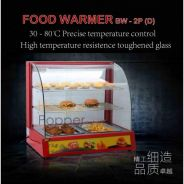 Food Warmer Showcase DOUBLE DECK