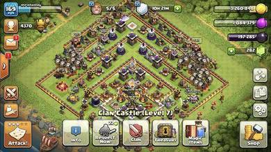 Clash Of Clans Account ID Town