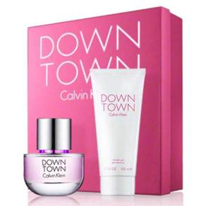 Calvin Klein Downtown 2 Piece Set, 90Ml EDP & 200M