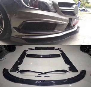 W176 revozport diffuser lip skirt bodykit body kit