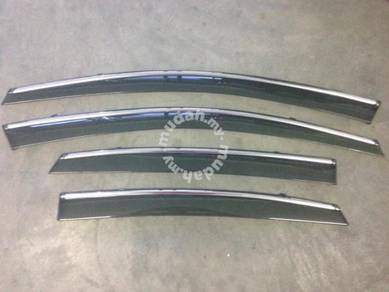 Kia sorento ford mondeo chrome lining door visor