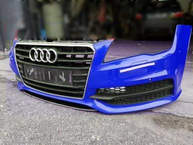 Audi A7 S7 S line front bumper bodykit