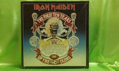 Iron Maiden THE FIRST TEN YEARS Boxset LP