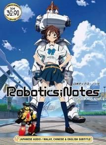 DVD ANIME Robotics ; Notes Vol.1-22End