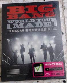 DVD BIG BANG World Tour MADE in Macau Karaoke 2DVD