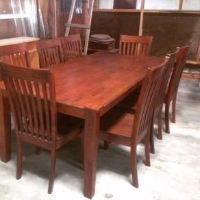 Dining table/meja makan/meja kayu