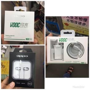Earphone / adapter / cable oppo vooc original
