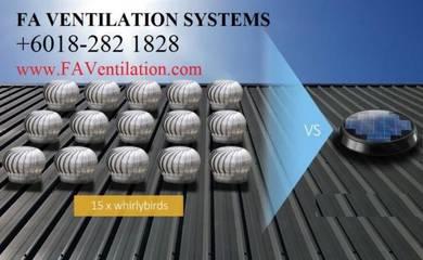 KYLEC US No.1 Solar Roof Ventilator Fan ALOR SETAR