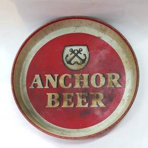 Vintage Anchor Beer Tray