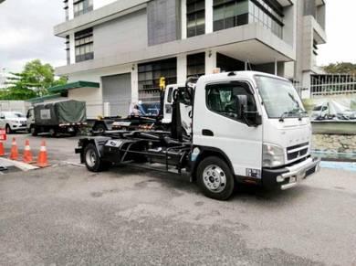 Lori Baru Roro 5tan Mitsubishi Fuso Isuzu Armroll