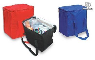 Nylon zipper cooler bag