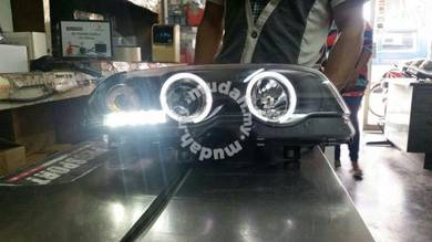 Bmw e46 2 door 98 to 01 head lamp led day light