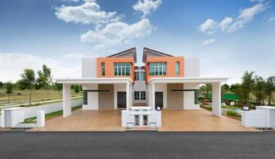 Simpang Ampat ~ Double Storey Semi D Zero Lot ~ ( High Ceiling Type)