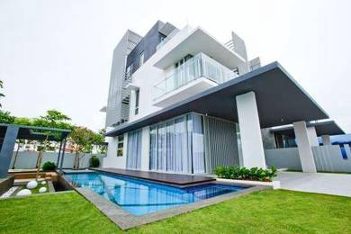 LIMITED 49x90Freehold 2 storey 0%D/P Free Swimming pool Puchong
