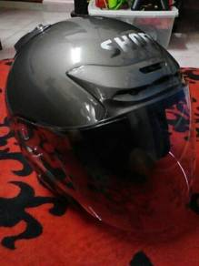 Helmet shoei j force 2 grey