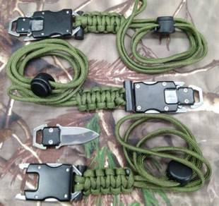 Paracord side release buckle