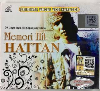 HATTAN MEMORI HITS HATTAN VCD KARAOKE 2 vcd