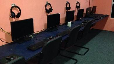 Cyber Cafe For Sale