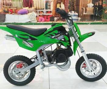 49cc Dirt bike Scrambler for kids Green Color
