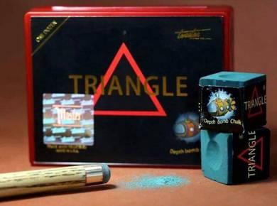 Tweeten Depth Bomb Triangle Snooker Cue Chalk