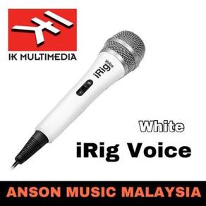 IK Multimedia iRig Voice Handheld Microphone,White