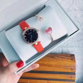 GUCC08 A01 Elegant Watch Set (Watch + Bangle