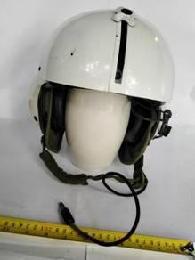 US made helicopter pilot helmet