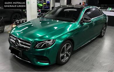 C12 - Gloss Metallic emerald Green Sticker Wrap