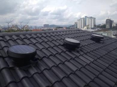 KELANTAN No.1 Solar Roof Attic Ventilator Ex Fan