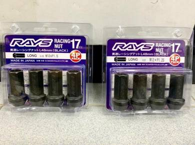 RAYS Racing Wheel Nut HEX 17 (M12 x P1.5 / P1.25)