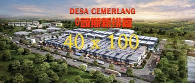Desa Cemerlang Superlink Factory - 100% Zero Downpayment
