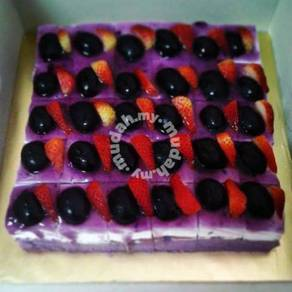 Yam Slice Sponge Cake