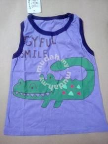 (WJ 0039) New Nissen Kids Singlet Crocodile