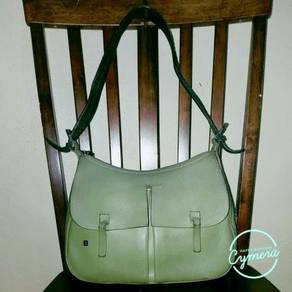 Shoulder Bag Leather Vtg Bally Clemesin