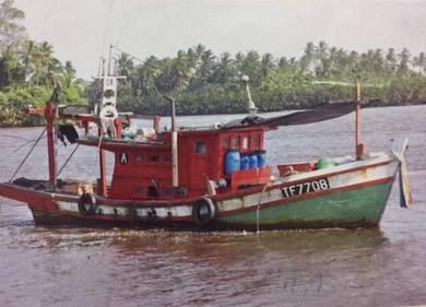 Boat kapal laut kapal pancing